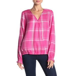 Sanctuary Womens Cori Surplice Blouse XS